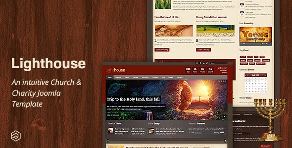 Lighthouse - Responsive Charity Church Joomla Template - Churches Nonprofit