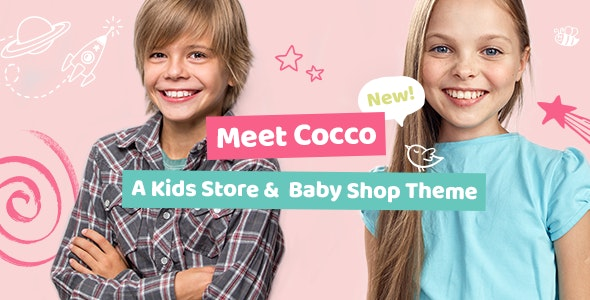 Cocco - Kids Store and Baby Shop Theme - WooCommerce eCommerce