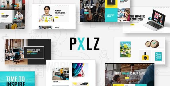 Pxlz - Creative Design Agency Theme - Creative WordPress