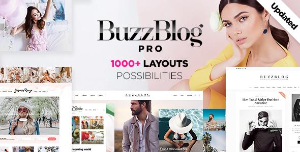BuzzBlog - Massive Multi-Purpose WordPress Blog Theme - Personal Blog / Magazine
