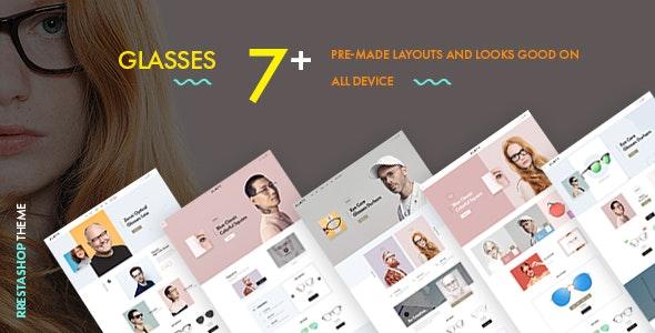 At Glasses - Premium Prestashop Theme for Fashion - Fashion PrestaShop