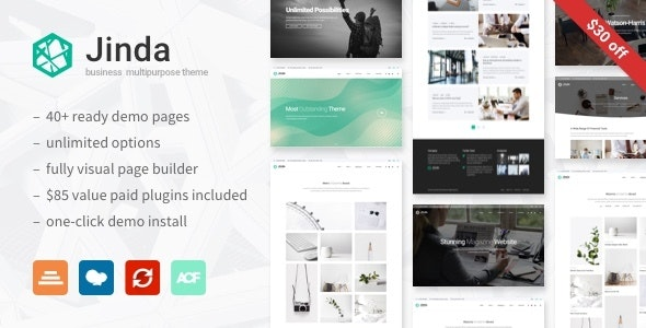 Jinda - Elegant Multi-Concept WordPress theme - Business Corporate