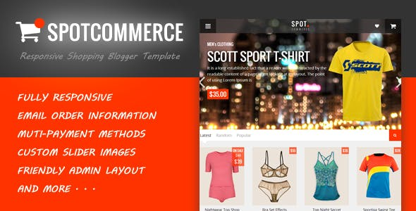 Ecommerce Blogger Templates From Themeforest