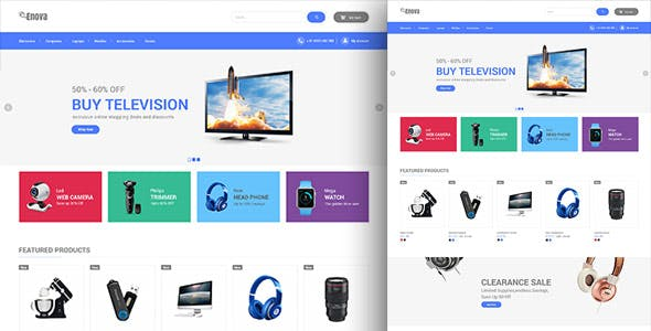 Enova - Electronics Mobile Digital Prestahsop 1.7 Theme