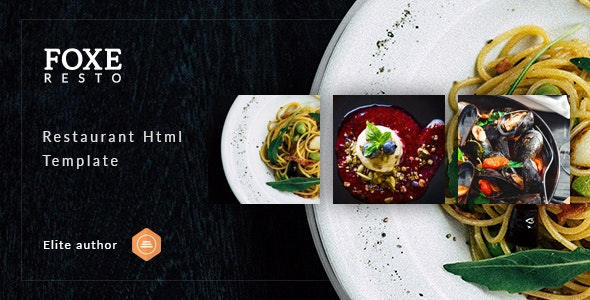 Foxeresto - Restaurant HTML Template - Restaurants & Cafes Entertainment