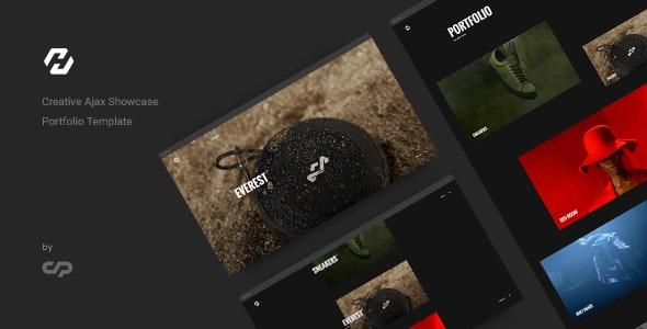 Hervin - Creative Ajax Portfolio Showcase Slider Template - Creative Site Templates