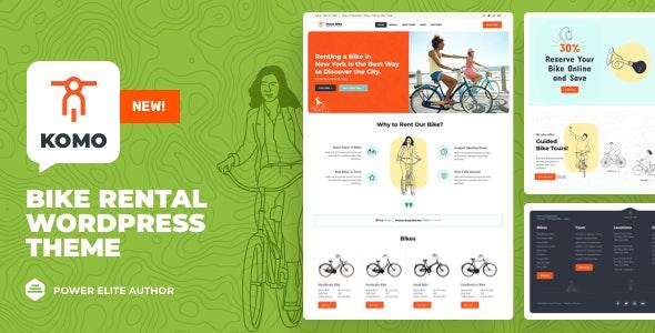 Komo - Bike Rental Shop WordPress by vamtam | ThemeForest