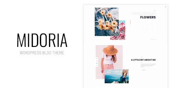 Midoria - Personal WordPress Blog Theme - Personal Blog / Magazine