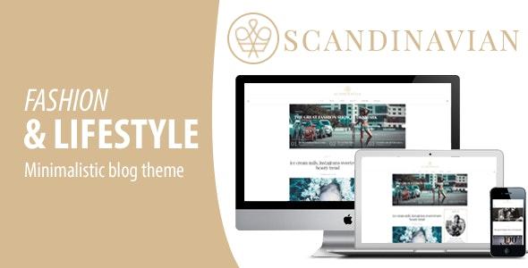 Scandinavian - Clean Fashion & Lifestyle Blog Theme - Blog / Magazine WordPress