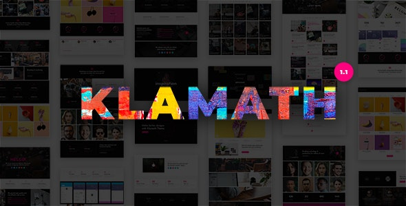 Klamath - Multipurpose Creative Portfolio WordPress Theme - Portfolio Creative
