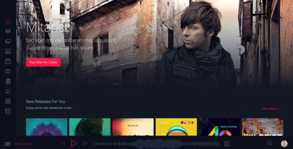 Rekord - Ajaxify Multipourpose Music Podcast & Events Multipurpose HTML Template