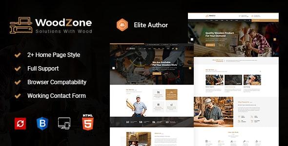 Woodzone - Carpenter HTML Template - Art Creative