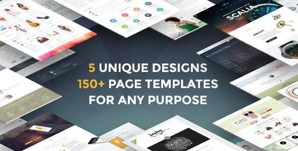 Scalia - Multi-Concept Business, Shop, One-Page, Blog Theme - Corporate WordPress
