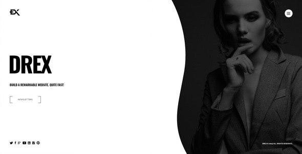 Drex - Photography Portfolio Template - Portfolio Creative