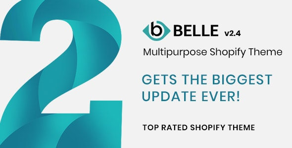 Belle - Multipurpose Shopify Theme by adornthemes   ThemeForest
