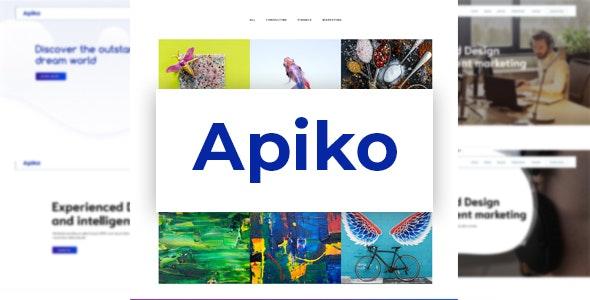 Apiko - Multipurpose Business PSD Template - Business Corporate