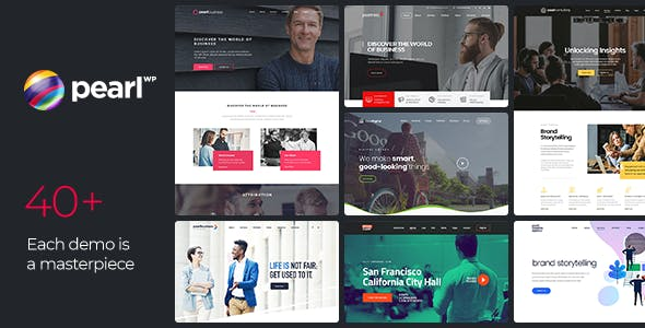 ce14a3b32 Pearl Business - Corporate Business WordPress Theme for Company and  Businesses - Business Corporate