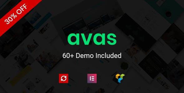 Avas | Multi-Purpose Responsive WordPress Theme