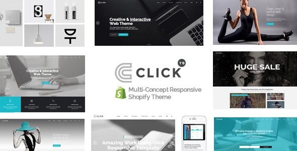 Click - Multipurpose Responsive Shopify Theme - Shopify eCommerce