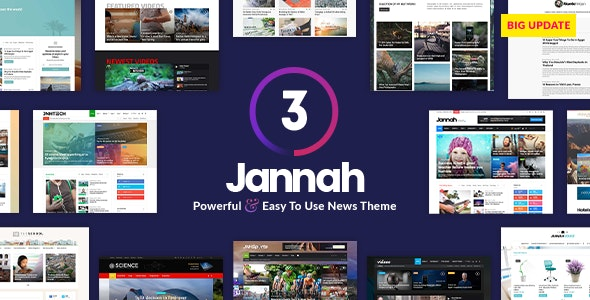 Jannah News - Newspaper Magazine AMP BuddyPress - News / Editorial Blog / Magazine