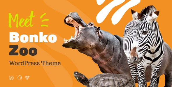Bonko | Safari & Zoo WordPress Theme - Entertainment WordPress
