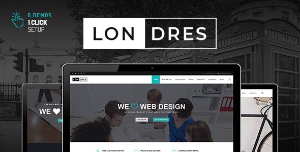 Londres - Stylish Multi-Concept WordPress Theme - Corporate WordPress