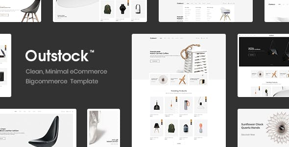 Outstock - Premium Responsive Furniture Bigccommerce Template nulled theme download