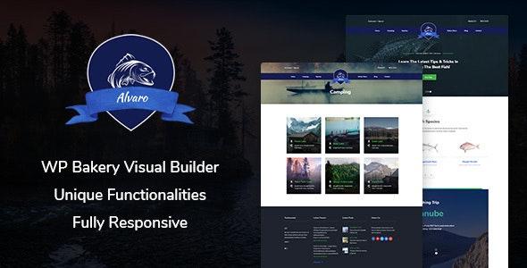 Alvaro – Hobby Multipurpose WordPress Theme - Entertainment WordPress