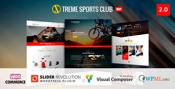 Xtreme Sports – WordPress Theme