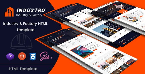 Induxtro - Industry & Factory HTML Template by EnvyTheme