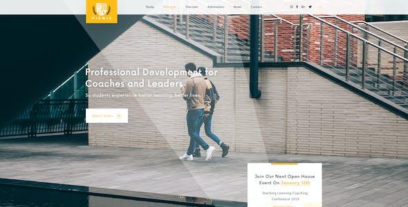 Picwik - University, Education Landing Page