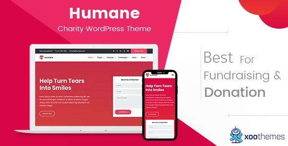 Humane – Charity WordPress Theme