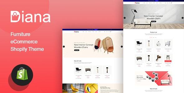 Diana - Furniture Shopify Theme - Shopping Shopify