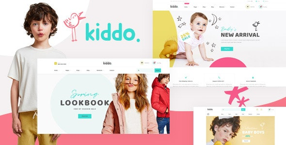 Kiddo - Kid Fashion WooCommerce WordPress Theme - eCommerce WordPress