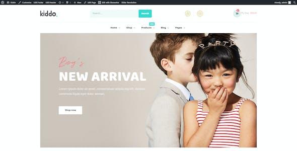 Kiddo - Kid Fashion WooCommerce WordPress Theme