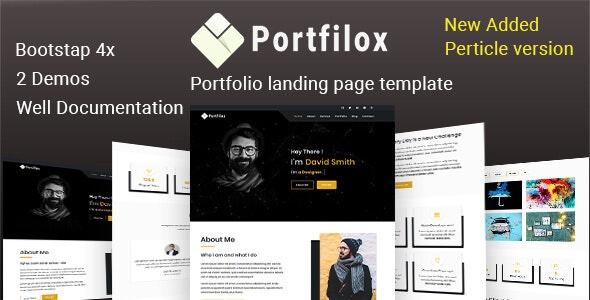PortFilox - Responsive Portfolio Template - Portfolio Creative