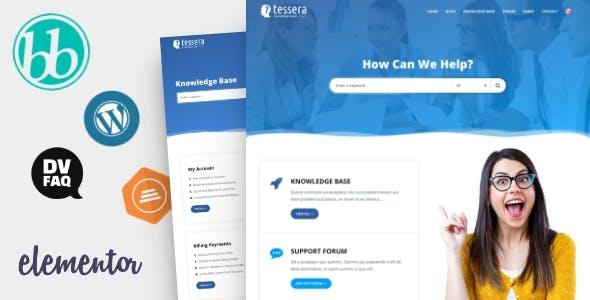 Tessera - Knowledge Base & Support Forum WordPress Theme nulled theme download