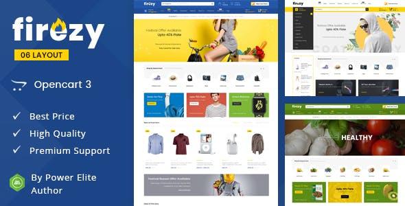 Firezy - Multipurpose OpenCart 3 Theme