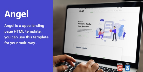 Query Landing HTML Template - Site Templates