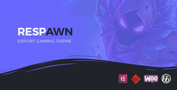 Respawn - Esports Gaming WordPress Theme - Creative WordPress