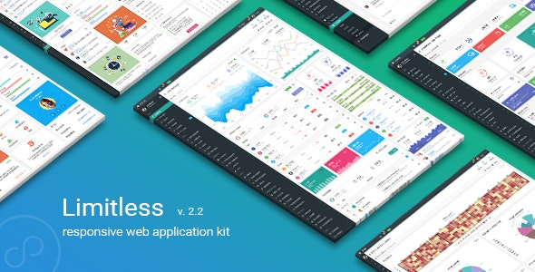 Limitless - Responsive Web Application Kit - Admin Templates Site Templates