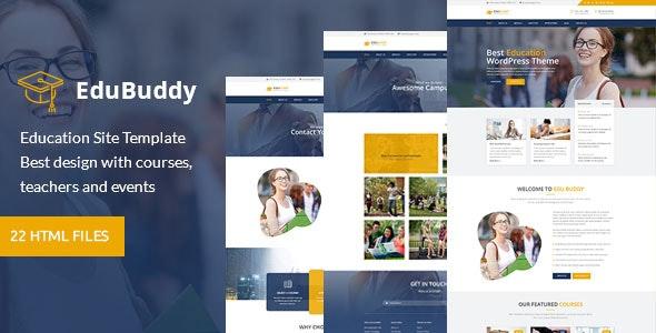 EduBuddy - Education HTML Template - Business Corporate