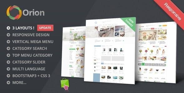 Orion - Mega Shop Responsive Prestashop Theme - Shopping PrestaShop