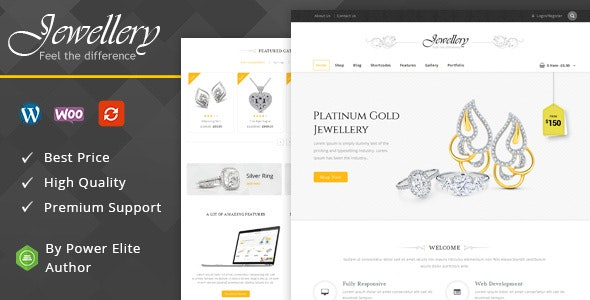 Jewellery – WooCommerce Responsive Theme
