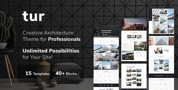 Architecture / Interior Design - Architecture / Interior WordPress for Architecture