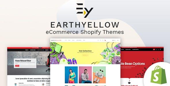 Earthyellow - Shopify Section Theme