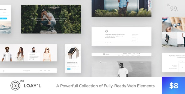 LOAY`L | Multipurpose HTML Template - Creative Site Templates
