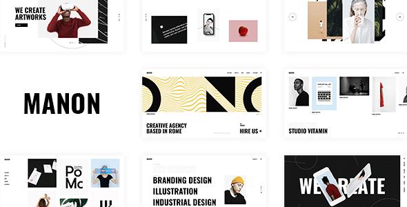 Manon - Portfolio & Agency Theme - Portfolio Creative