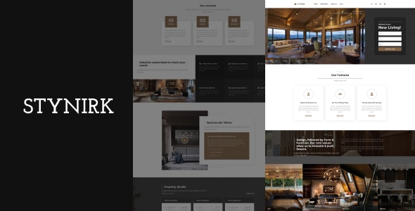 Stynirk - Single Property WordPress Theme - Real Estate WordPress