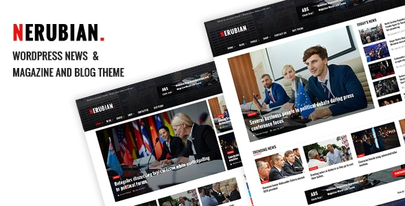 Nerubian - A Modern News & Magazine Theme - News / Editorial Blog / Magazine